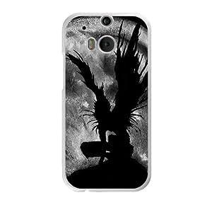 Death Note O4U2XI7H Caso funda HTC One M8 Caso funda del teléfono celular blanco
