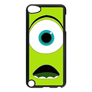 DIY Mike Wazowski Ipod Touch 5 Phone Case, Mike Wazowski Customized Hard Back Case for iPod Touch5 at Lzzcase