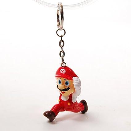 Super Mario Bros - Llavero, color rojo: Amazon.es: Oficina y ...