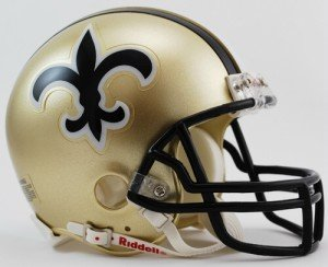 New Orleans Saints Replica Helmet - 7
