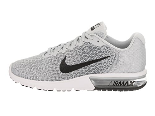 Platinum Max Black Shoes Pure 2 Mens Sequent Air Nike Running Grey WTqxw5A8c4