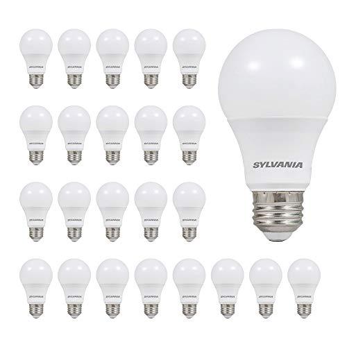 LEDVANCE 74765 A19 Efficient 8.5W Soft White 2700K 60W Equivalent A29 LED Light Bulb (24 Pack), 10 yr, 24 Count