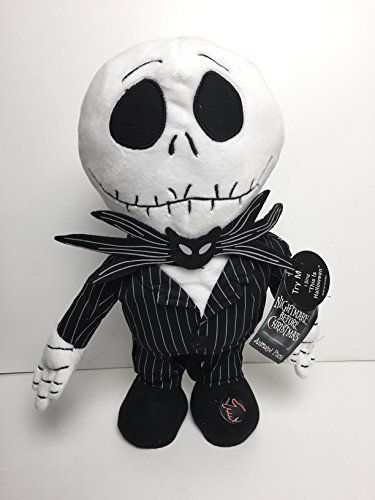 Jack Skellington Musical Animated Plush - The Nightmare