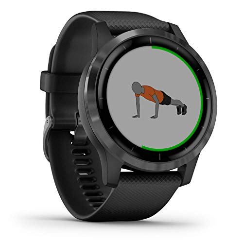 Garmin Vívoactive 4, GPS Smartwatch, Features Music, Body Energy Monitoring, Animated Workouts, Pulse Ox Sensors and…