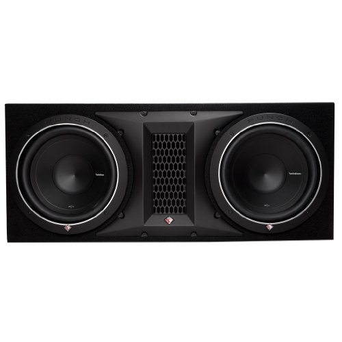 2X10 10-Inch Dual Subwoofer Enclosure (Rockford Fosgate Subwoofer Enclosures)