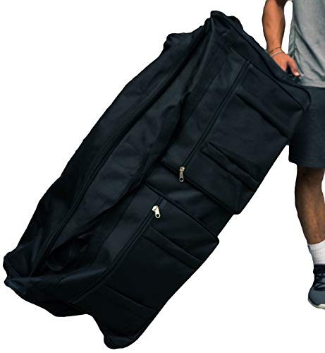 Gothamite 36-inch Rolling Duffle Bag with Wheels |...