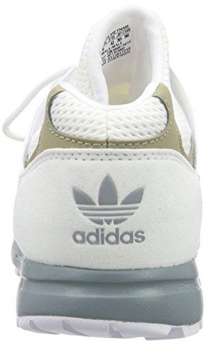 adidas OriginalsRacer Lite EM - pantufla Hombre Blanco - Weiß (Ftwr White/St Bluegrass F13/Ch Solid Grey)