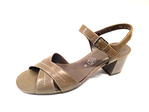 Ara 54 681 Sandálias Taupe Damen Modo Leder