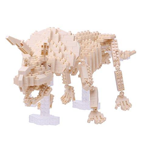 Nanoblock Triceratops Skeleton Building Kit