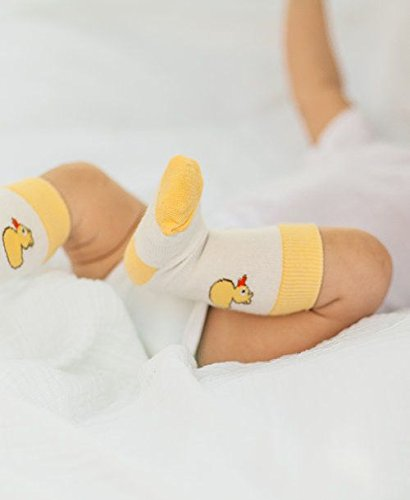 Cheski Baby Knee Socks Stay Put on Babys Kicking Legs Size 0-3 Months