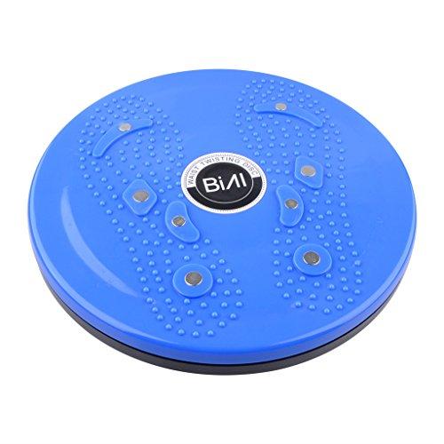 Waist Twisting Disc Figure Trimmer Fitness Board-(Blue) - 4