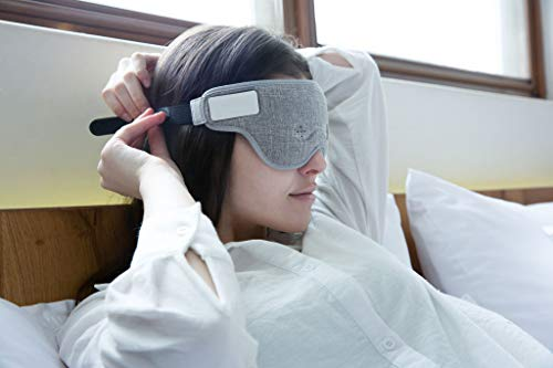 Ivation Luuna Brainwave Brain Sensing Bluetooth Smart Sleep Mask Built-in Music/Sounds, Wireless Connection to Most Devices with EEG and AI Technology - Great for Home, Travel or Nap-Break at Office by Ivation (Image #3)