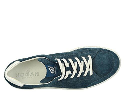 Hogan Sneakers Uomo HXM1680Q3804VA2AN5 Camoscio Blu
