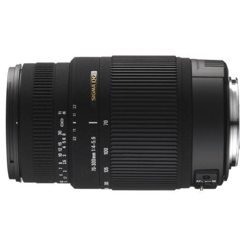 Sigma 70-300mm F/4-5.6 DG OS SLD Super Multi-Layer Coated Telephoto Lens for Sigma AF Mount Digital SLR Cameras