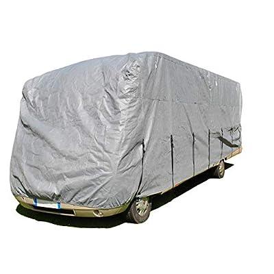 HBCOLLECTION Premium Atmungsaktive Schutzhülle für Integrierte Wohnmobile Reisemobile (LxlxH 5.50x2.20x2.60m)