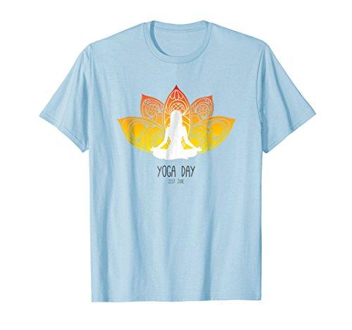 Yoga T Shirt - Namaste Yoga Lover Gift TShirt Cute