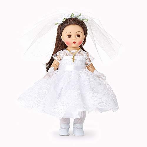 "Madame Alexander 8"" First Communion Blessings Medium Skin Tone Brown Eyes/Brunette Hair"