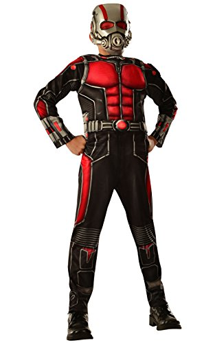 Marvel Ant Man Costume (Deluxe Antman Child Costume - Medium)