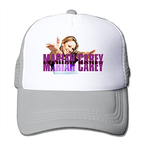 Bang Mariah Carey Adjustable Mesh Hats Ash