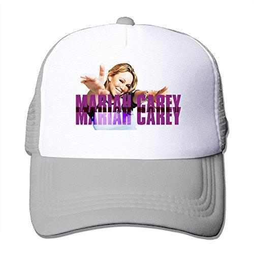 Bang Mariah Carey Adjustable Mesh Hats Ash