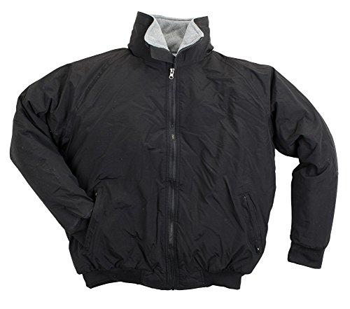 North 15 - Men's Nylon Three-Season Jacket, Polar Fleece Lined - XX-Large, (Lined Nylon Coat)