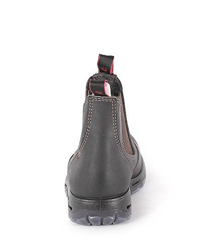 Redback Homme Brown Claret Brown Protection Marron Brown Claret de Cuir en Chaussures Pour Claret marron USBOK 1xzF7w1