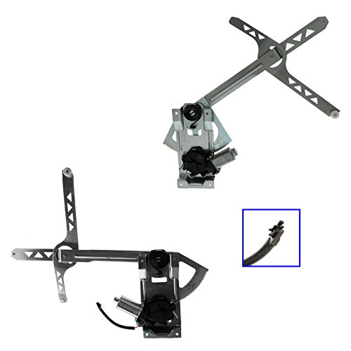 Safari Astro Chevy Van (Power Window Regulator & Motor Pair Set of 2 for 85-05 Chevy Astro Safari Van)