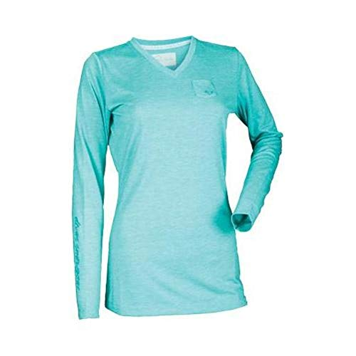 Divas SnowGear Women's Simple Long Sleeve Tee (Teal, ()