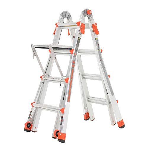Little-Giant-Velocity-17-Foot-Aluminum-Adjustable-Folding-Ladder-Work-Platform