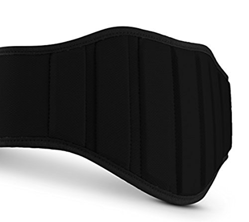 Premium Weightlifting Belt For Lifting Weights,Best Back Belt Support For Men &Women,Back Support Belt For Squats,Deadlift, Push Jerks, Thrusters Lifting Belt For Powerlifting &Bodybuilding(Black M)