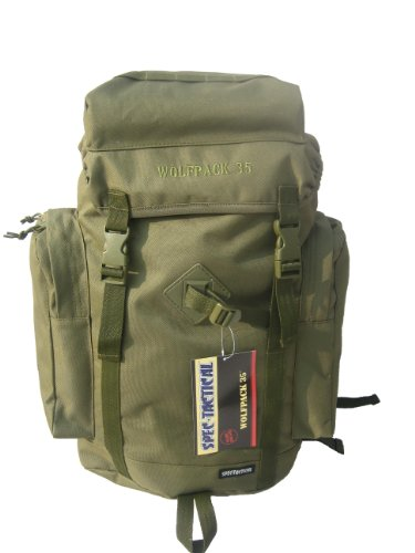 SpecTactical Wolfpack for Youth 35L – OD, Outdoor Stuffs