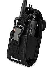 3 in1 Multi-Function Radio Holder Holster Case Pouch Bag for GPS Kenwood Yaesu Icom Motorola baofeng UV5R UV82 TYT UV5RA HYT 888S Retevis H777 F8HP Two Way Radio Walkie Talkie MSC 20C