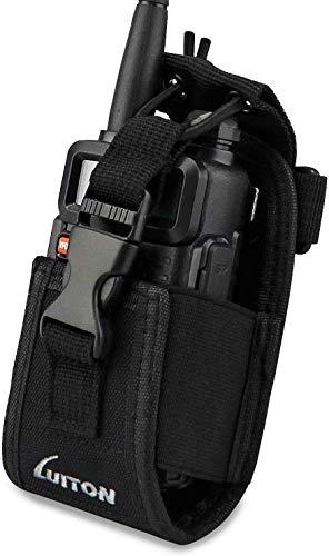 کیسه کیسه کیسه ای مخصوص صندوق دار چند منظوره LUITON 3 in1 سازگار با جیپیاس سازگار با موتورولا baofeng UV5R UV82 UV5RA 888S Retevis H777 F8HP دو راه رادیو Walkie Talkies (2Pack) با 2 کلیپ UV-5R