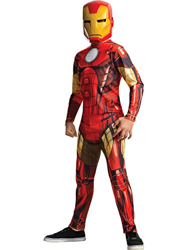 Rubies Marvel Universe Classic Collection Avengers Assemble Iron Man Costume, Child Large ()