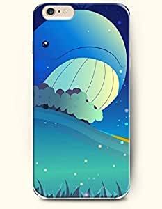 iPhone 6 Case,iPhone 6 Plus (5.5) Hard Case **NEW** Case with the Design of Whale with Tears - ECO-Friendly Packaging - Case for iPhone iPhone 6 Plus (5.5) (2014) Verizon, AT&T Sprint, T-mobile