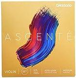 D'Addario Ascenté Violin String Medium Tension