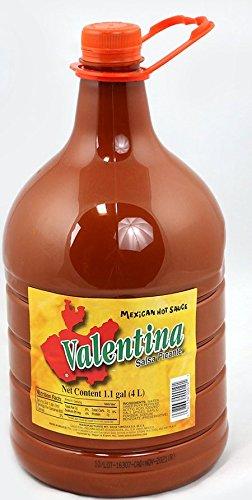 Valentina Salsa Picante Mexican Sauce 1.1 gallon