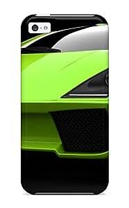 Hot premium Phone Case For Iphone 5c/ Lamborghini Green Concept Tpu Case Cover