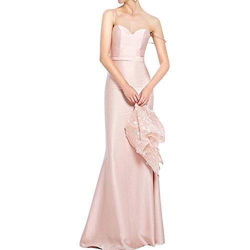 La Braut Brautmutterkleider Satin Jaket Blau Spitze Abschlussballkleider mia Spitze Festlichkleider Abendkleider Elegant mit BrYqxBnwa5