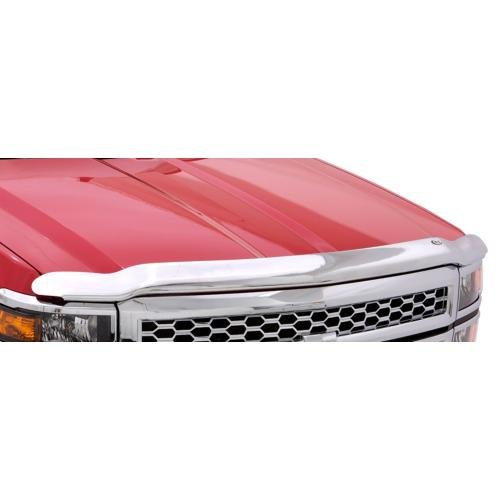 (Auto Ventshade 680033 Chrome Hood Shield for 2004-2008 Ford F-150, 2006-2008 Lincoln Mark)