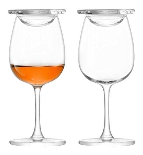 Islay LSA Whisky Nosing Gläser Glas, 110 ml, 2-er Set, in Geschenkbox, Whiskey Verkostungsglas