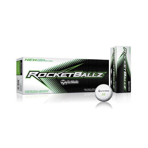 TaylorMade Rocketballz Golf Balls (12 Pack), Outdoor Stuffs