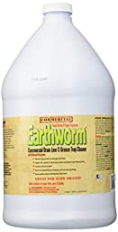 Earthworm Commercial Drain Line and Grease Trap Cleaner Treatment - Clog Remover - Drain Opener / Deodorizer - Natural Enzymes, Environmentally Responsible - 1 Gallon