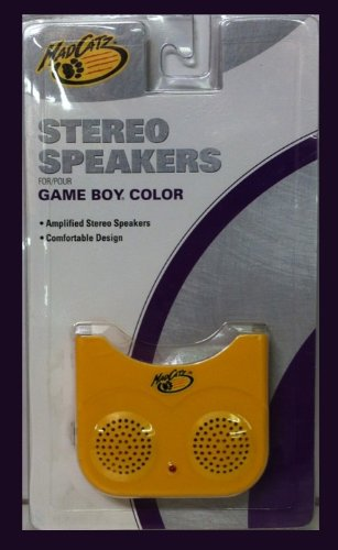 Mad Catz Stereo Speakers - Game Boy Color