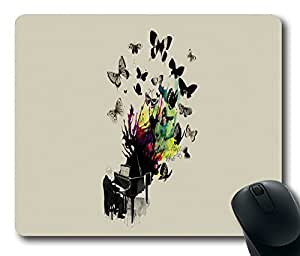 """Music Artistic Standard Mouse Pad Oblong Design Mousepad in 220mm*180mm*3mm (9""""*7"""") -102126 by ruishername"""