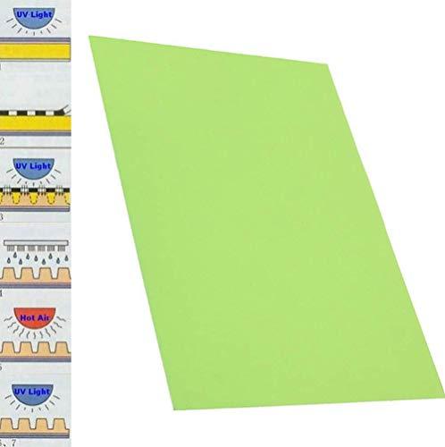 20x30cm 1x Rubber Stamp Making DIY Photopolymer Plate Craft Letterpress Polymer