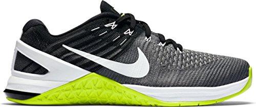 White Grey Fitness 878556 Women's Shoes 001 Volt Dark Nike Black Grey x1O68w