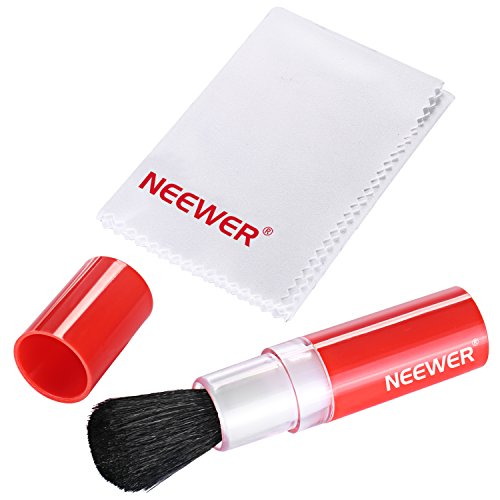 Neewer Professional Cleaning Kit Includes Lens Brush for DSLR Cameras and Sensitive Electronic Devices (Canon, Nikon, Pentax, Sony, Telescopes and Binoculars)
