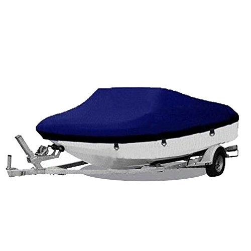 Heavy Duty 600D Marine Grade Oxford Fabric Trailerable Waterproof Boat Cover Fit for 20