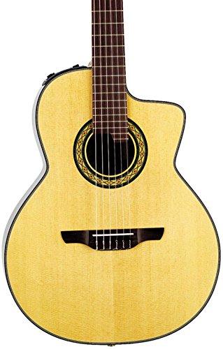 Takamine TC135SC Classical 24-Fret Cutaway Acoustic-Electric Guitar Natural